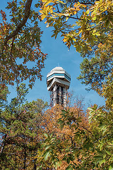 Hot Springs Mountain Tower by John M Bailey