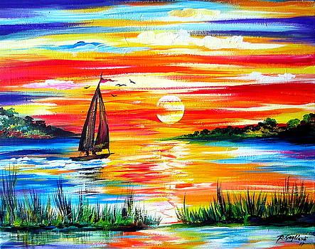Hot Summer sunset  by Roberto Gagliardi