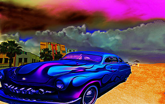 Hot Times At Miami Beach by Jeff Burgess