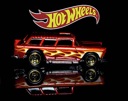Hot Wheels '55 Chevy Nomad by James Sage