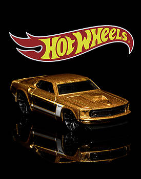 Hot Wheels '69 Ford Mustang 2 by James Sage