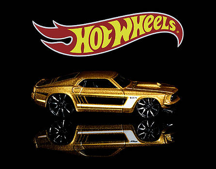 Hot Wheels '69 Ford Mustang by James Sage