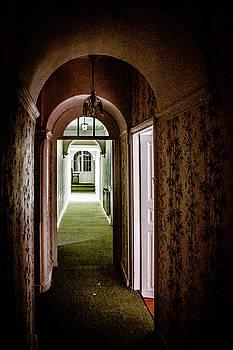 Hotel Corridor by Elly De vries