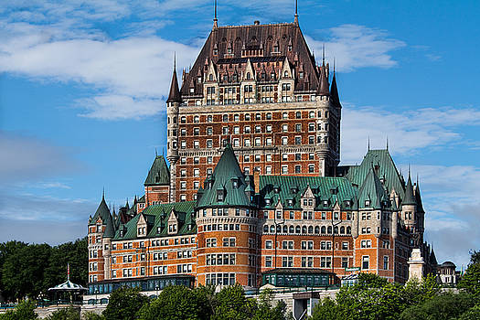Chateau Frontenac in Quebec City by David Smith