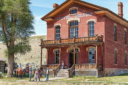 Hotel Meade Cowboys by Steven Bateson