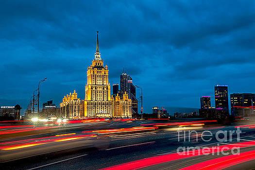 Hotel Radisson in Moscow by Vladimir Sidoropolev