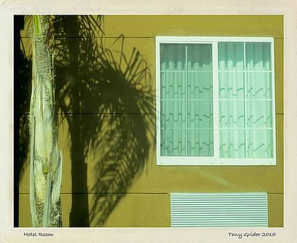 TONY GRIDER - Hotel Room Polaroid Transfer