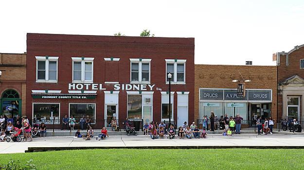 Hotel Sidney and Penn Drug Co. Sidney Iowa by J Laughlin