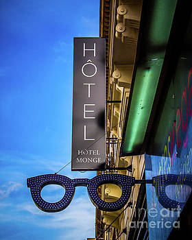 Hotel sign by Perry Webster