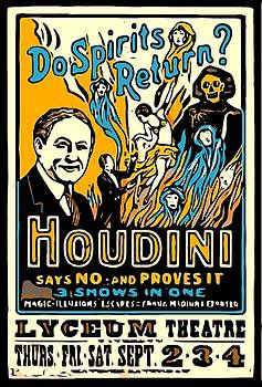 Larry Lamb - Houdini Poster