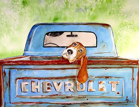 Hound Dog Blues by Carol Blackhurst