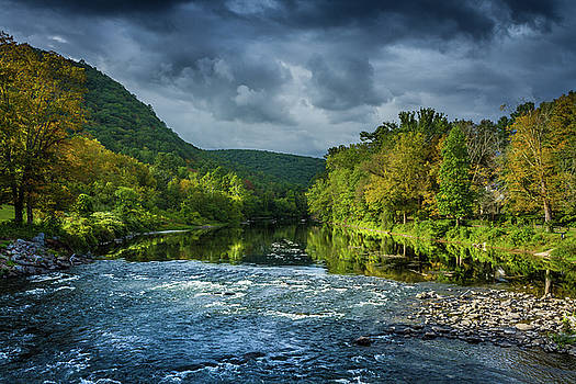 Housatonic River, West Cornwall Connecticut by Skyelyte Photography by Linda Rasch