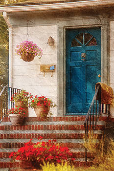 Mike Savad - House - Blue Front Door