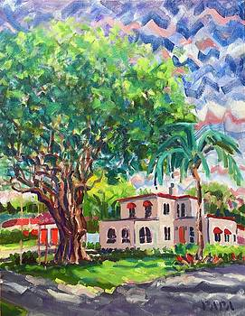 House at Old Floresta by Ralph Papa