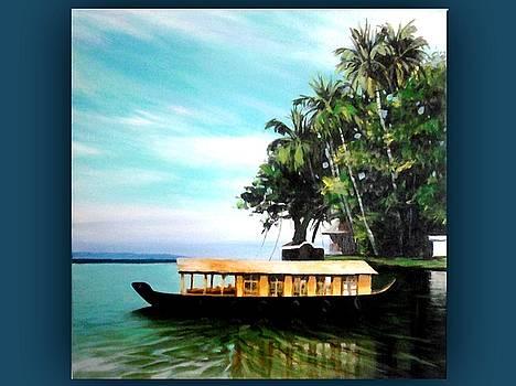 House Boat by Rupesh Kolvankar