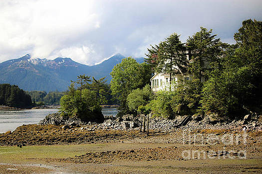 House in Sitka Alaska by Veronica Batterson