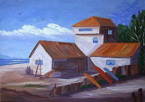 House in Sunset Beach by Bob Phillips