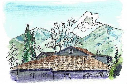 House in the Mountains by Masha Batkova
