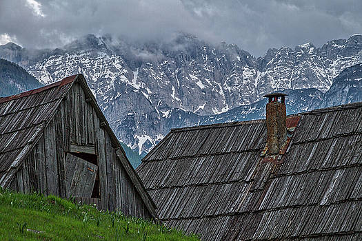 House in the Pass #2 - Slovenia by Stuart Litoff