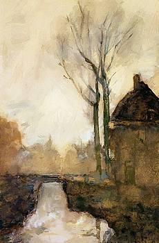 Weissenbruch Johan Hendrik - House Near Canal