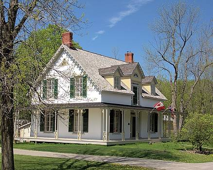 Valerie Kirkwood - House Near Delta Ontario
