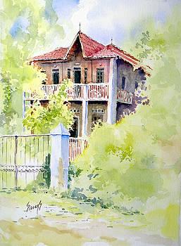 Sam Sidders - House on Jones Street