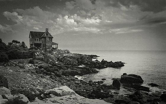 House on Ocean Avenue by Samuel M Purvis III