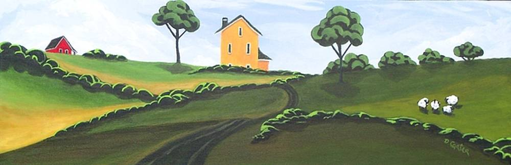House On The Hill by David Carter
