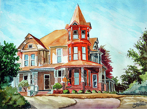 House on the Hill by Ron Stephens