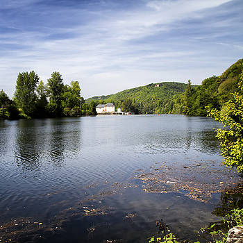 Georgia Fowler - House on the River Bend - South West France