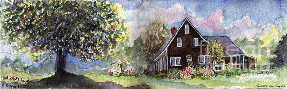 House Portrait by Cori Caputo