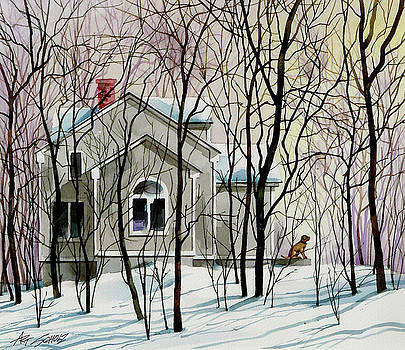 House Sitting by Art Scholz