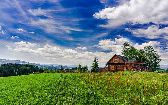 House with the view by Dmytro Korol