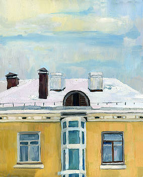 House With an Elevator by Lelia Sorokina