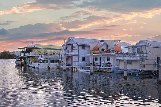 Kim Hojnacki - Houseboat Row - Key West