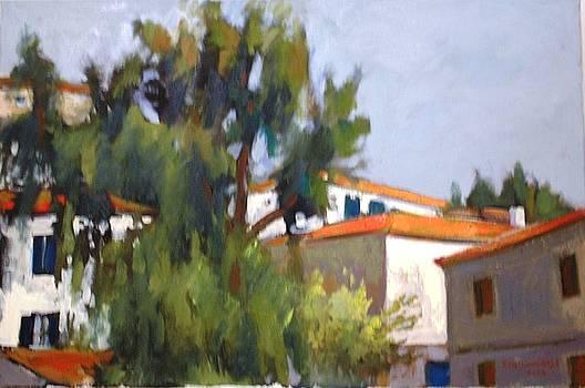 Houses in Galajidi by George Siaba