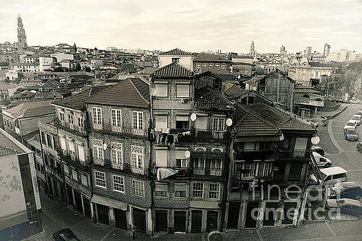 Houses in Porto, Portugal by Isabel Poulin