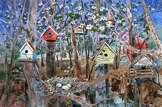 Kathleen  Gwinnett - Houses in The Woods