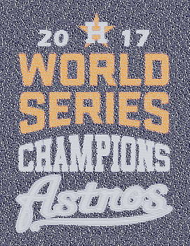 Houston Astros Roster Mosaic by Paul Van Scott