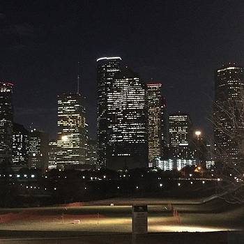 Houston Evening! #downtown #houston by Gin Young