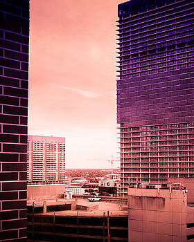 Karen Musick - Houston Skyline My Daddys Old Office
