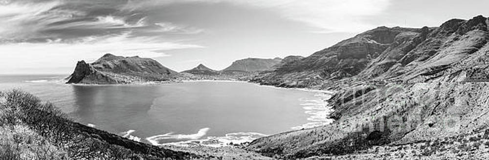 Tim Hester - Hout Bay Panorama Black and White