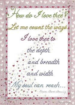 How Do I Love Thee? by Stephanie Hessler