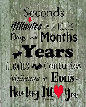 How Long I'll Love You by Ramona Murdock