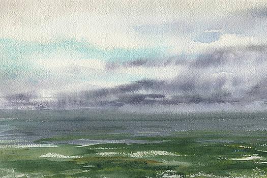 Irina Sztukowski - How Storm Begins Seascape