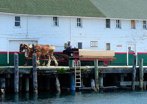 How Things Get Done on Mackinac Island Michigan by Mikel Classen