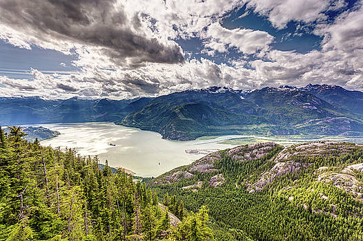 Howe Sound Landscape by Pierre Leclerc Photography