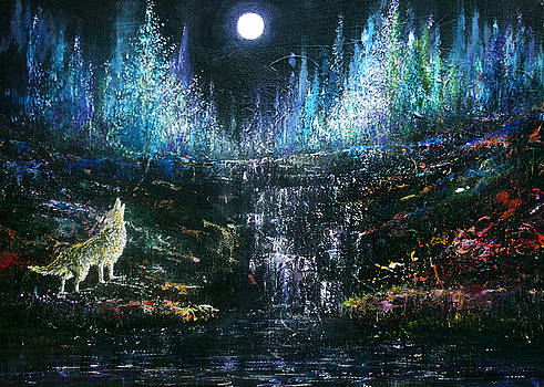 Howling at the Moon by Ann Marie Bone