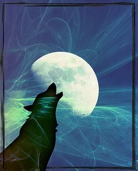 Howling Moon by Amanda Eberly-Kudamik