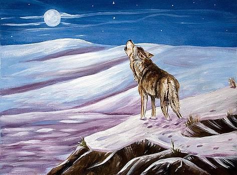 Dorothy Riley - Howling Wolf